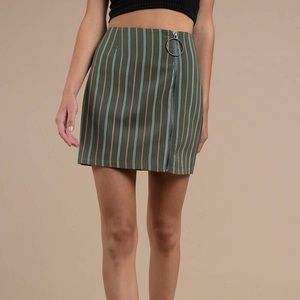 {The Fifth Label} AXIAL MULTI O-RING MINI SKIRT
